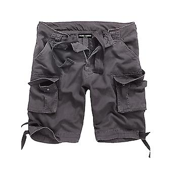 Francis HANNA men's cargo shorts anthracite