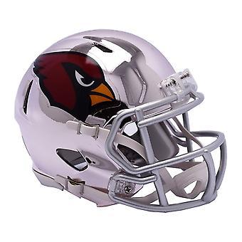 Riddell Mini Football Helm - NFL CHROME Arizona Cardinals