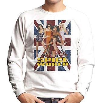 Retro Spice Girls Spice World Men's Sweatshirt