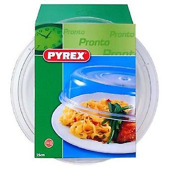 Pyrex opwarmstolp transparant 25cm