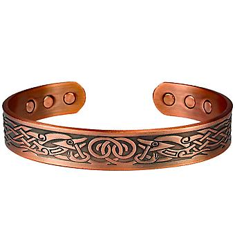 MPS® DAMINA Pure Copper Magnetic Bangle with 6 Magnets + Free Luxury Gift Pouch