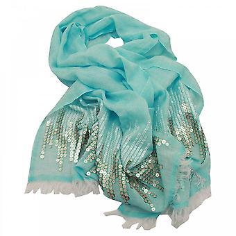欧姆布雷·塞奎因编织长围巾