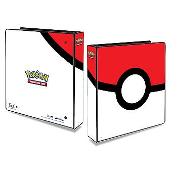 Pokemon 2 ' 3-Ring Album Binder Ultra Pro-Pokeball Cards Cards