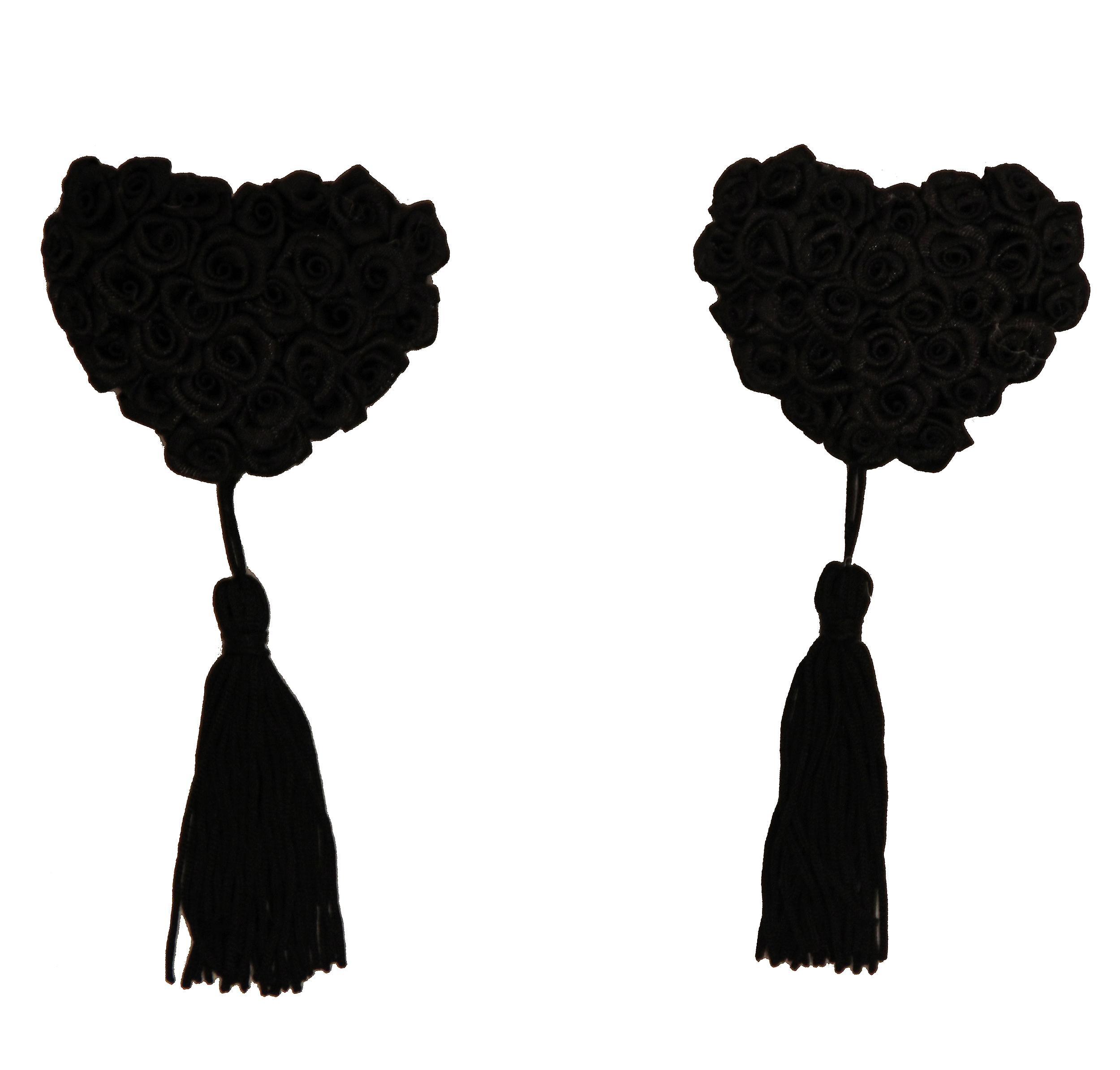 Waooh 69 - Cache-Tétons Roses En Coeur