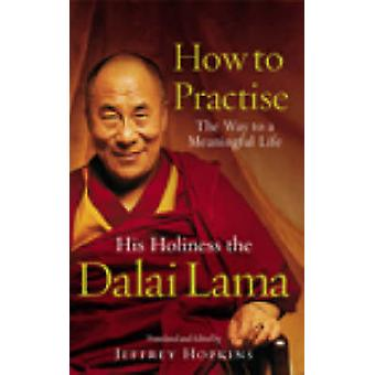 How to Practise - The Way to a Meaningful Life by Dalai Lama XIV - 978