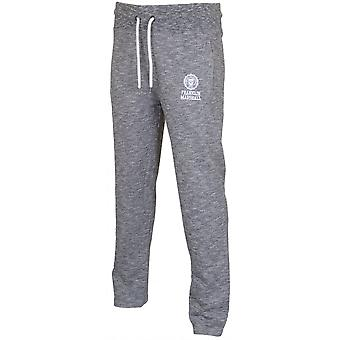 Franklin & Marshall Regular Fit Open Leg Sport Grey Melange Tracksuit Bottom