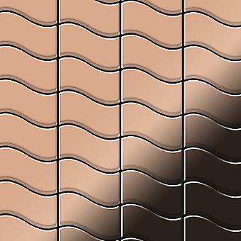 Metal mosaic Copper ALLOY Flux-CM