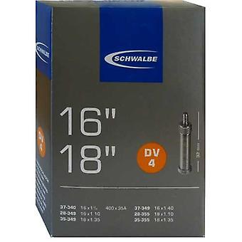 SCHWALBE DV 4 vélos tube 16″