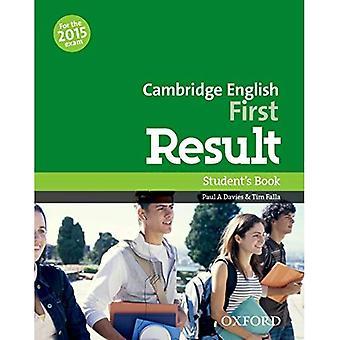 Inglês Cambridge primeiro resultado: Livro do aluno