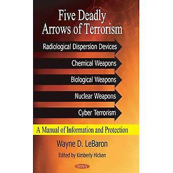 Fünf tödliche Pfeile des Terrorismus