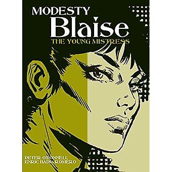 Modesty Blaise - ung älskarinna (Modesty Blaise (grafiska romaner))