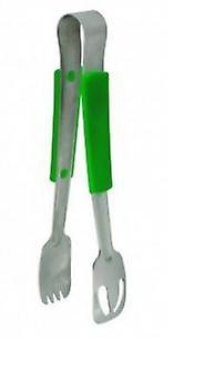 Stainless Steel 23Cm Tong With Green Polypropylene Handle Professionalkitchen Essential