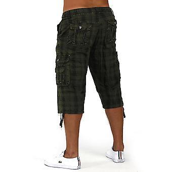 Mens Shorts Dos Pesos Bermuda with Dehnbund Cargo Capri Shorts Short 3/4