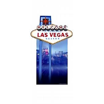 Welcome to Las Vegas Sign Cardboard Cutout