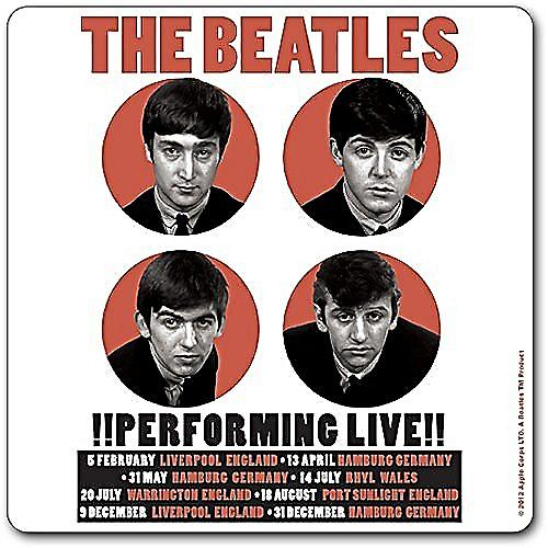 Beatles Performing Live 1962 drinks mat / coaster (ro)