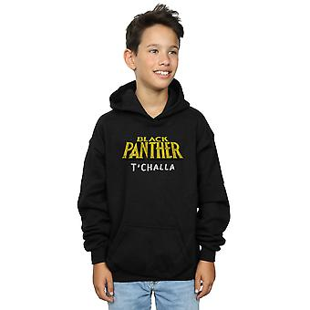 Marvel Boys Black Panther AKA T'Challa Hoodie