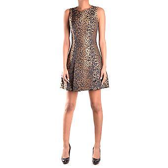 Michael Kors Leopard Polyester Dress