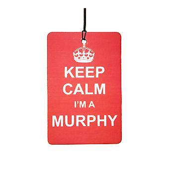 Keep Calm I'm A Murphy Car Air Freshener