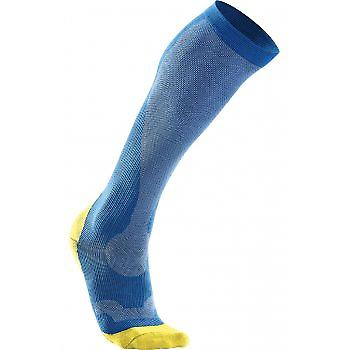 Compression Performance Run Socks Blue Mens
