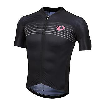 Pearl Izumi Black Diffuse Pro Pursuit Speed Short Sleeved Cycling Jersey