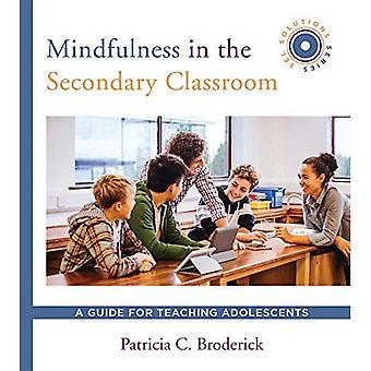 Mindfulness in het secundair klaslokaal: een gids voor adolescenten onderwijs (SEL Solutions Series)