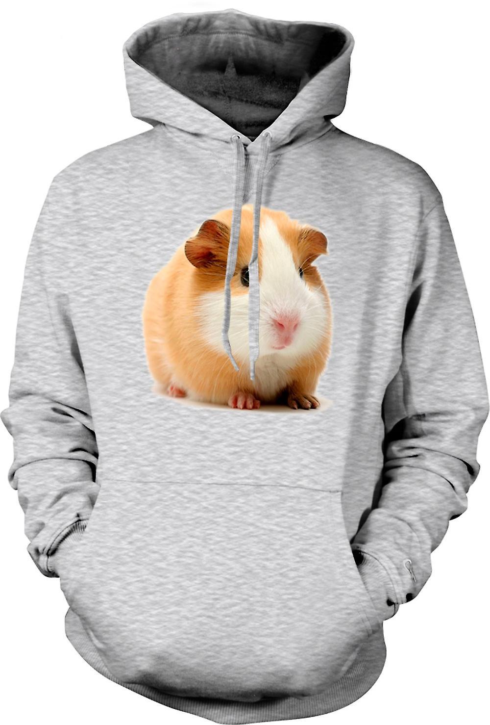 Mens Hoodie - Guinea Pig - Blonde - Cute