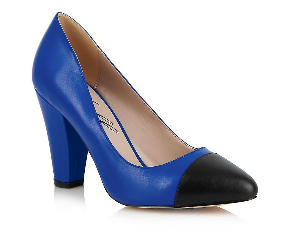 Beaulieu blue shoes
