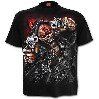 Spiraal-5fdp-Assassin-mens korte mouw t-shirt zwart