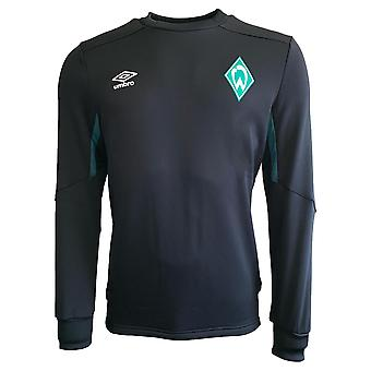 2019-2020 Werder Bremen Umbro Sweat Top (Black)