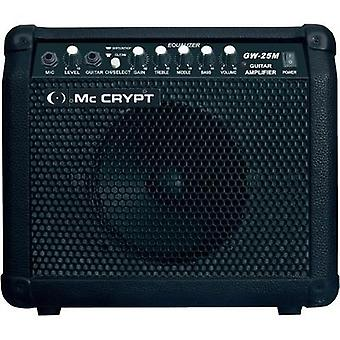 Electric guitar amplifier Mc Crypt GW25 M Black