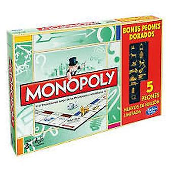 Hasbro Monopoly Limited Edition Goldene Token-A3856 Parker Mb