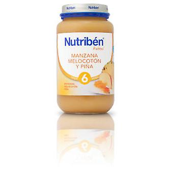 Nutribén Apple Peach And Pineapple 250 G (Enfance , Alimentation , Petits-pots)