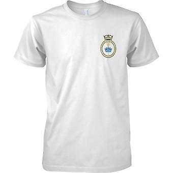 HMS Invincible - ontmanteld Koninklijke Marine schip T-Shirt kleur