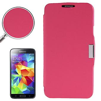 Cell phone cover case voor Samsung Galaxy S5 mini G800 roze geborsteld
