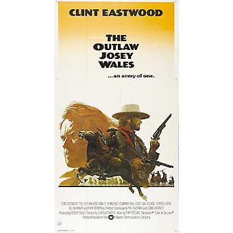 El Outlaw Josey Wales Movie Poster (11 x 17)