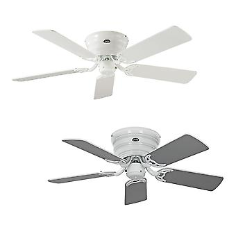 Ceiling fan Classic FLAT white extra flat in various sizes