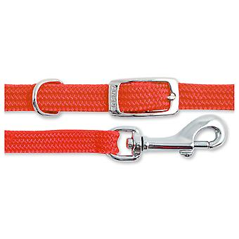 Small Bite Collar & Lead Set Softweave Red (Pack of 3)