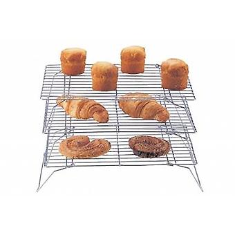 Set of 3 Stackable Cake Racks