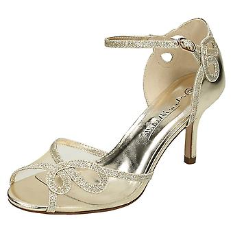 Ladies Anne Michelle Mid Heel Sandals F10583