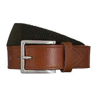 SAKLANI & FRIESE belts men's belts woven belt green 5432