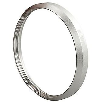 Kiwifotos 37mm Panasonic DMW-FA1 compatible filter adapter (silver) for Panasonic Lumix DMC-LX7 / Leica D-LUX 6