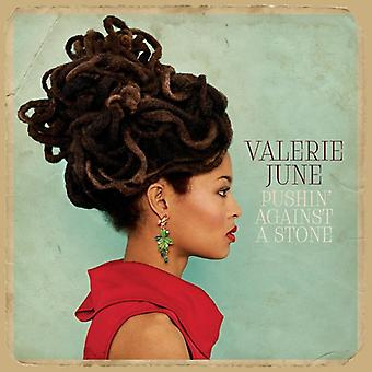 Valerie juni - Pushin' mot en sten [CD] USA import