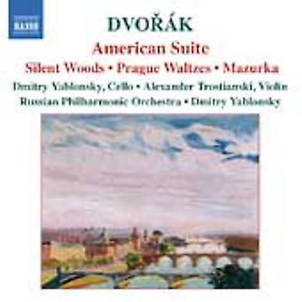 A. Dvorak - Dvor K: American Suite; Silent Woods; Prague Waltzes; Mazurka [CD] USA import