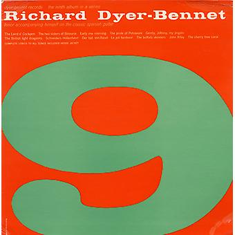 Richard Dyer-Bennet - Vol. 9-Richard Dyer-Bennet [CD] USA import