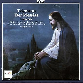 G.P. Telemann - Telemann: Der Messias; Concerti [CD] USA import