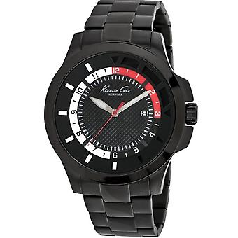 Kenneth Cole New York Black Stainless Steel Mens Watch 10022069