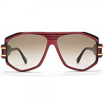 Cazal Legends 163 Aviator Sunglasses In Red And Black