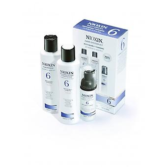 Nioxin Hair System Kit 6 For Medium, Coarse, Noticeably Thinning Hair