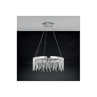 Eglo ANTELAO Crystal Ring Hanging Ceiling Pendant