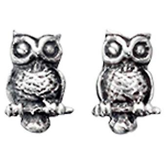 925 Silver Owl Earring